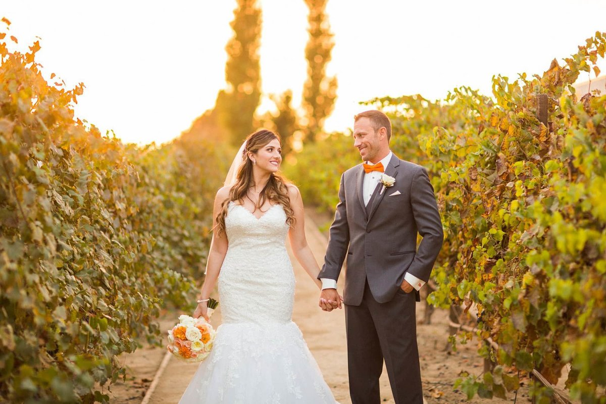 Turnip Rose Promenade Wedding