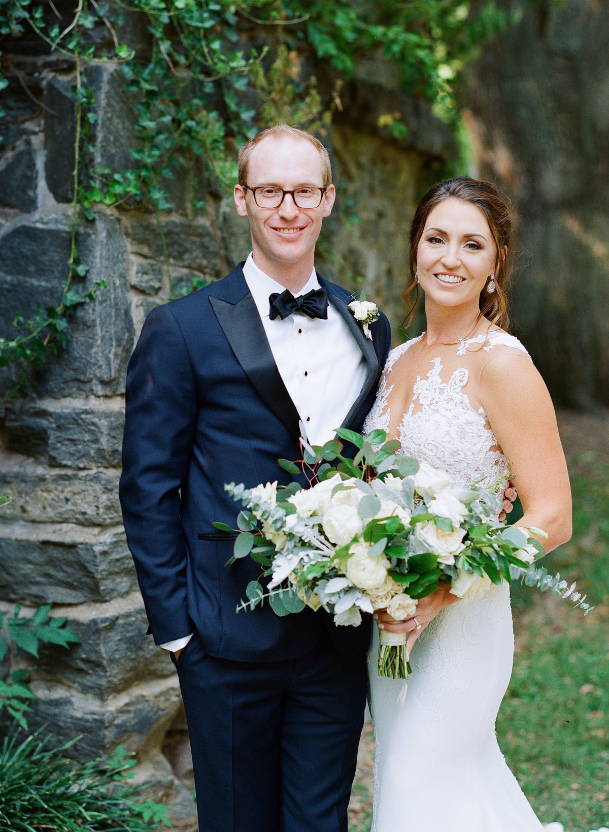Classic Bride and Groom at the Greystone at Piedmont Park