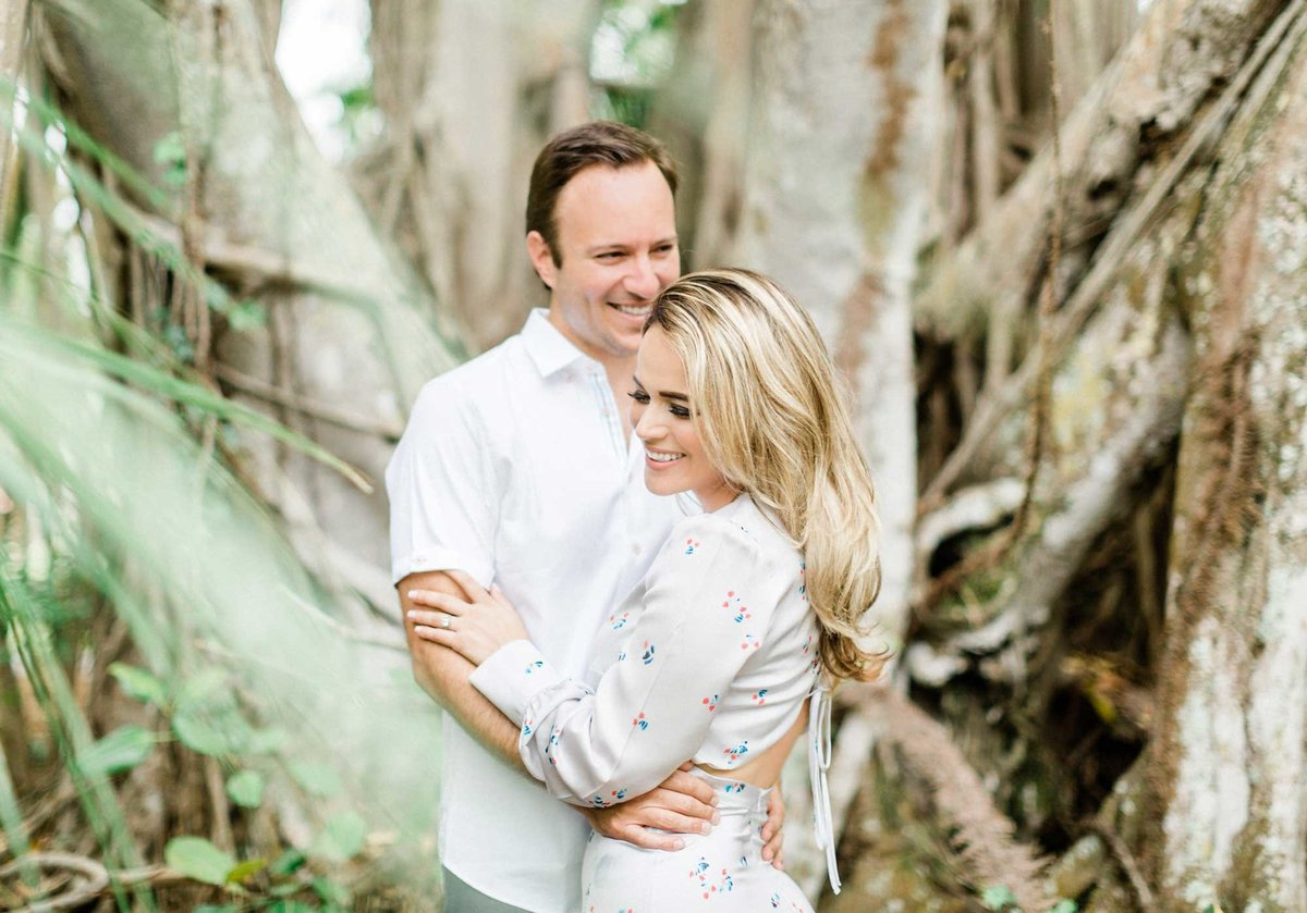 the ringling art museum sarasota florida wedding engagement photos