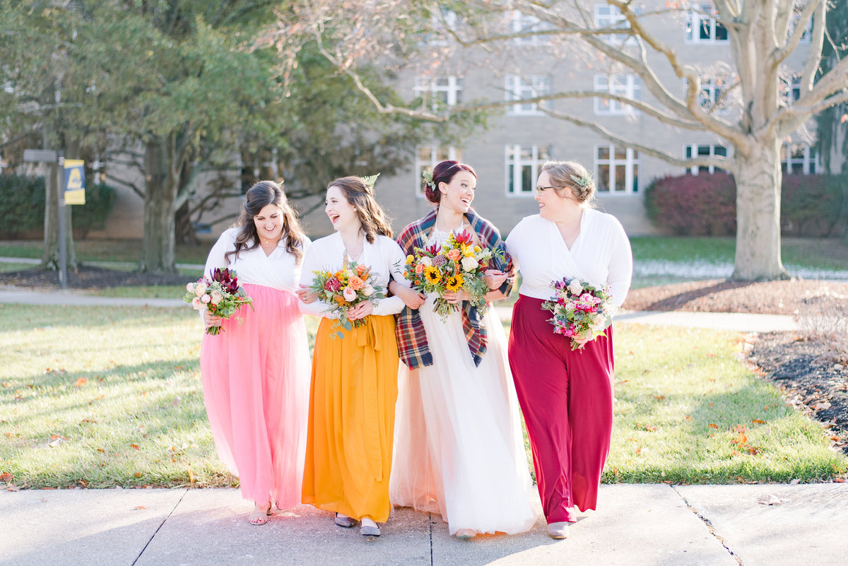 Urban Artifact Brewery Colorful Fall Wedding-133