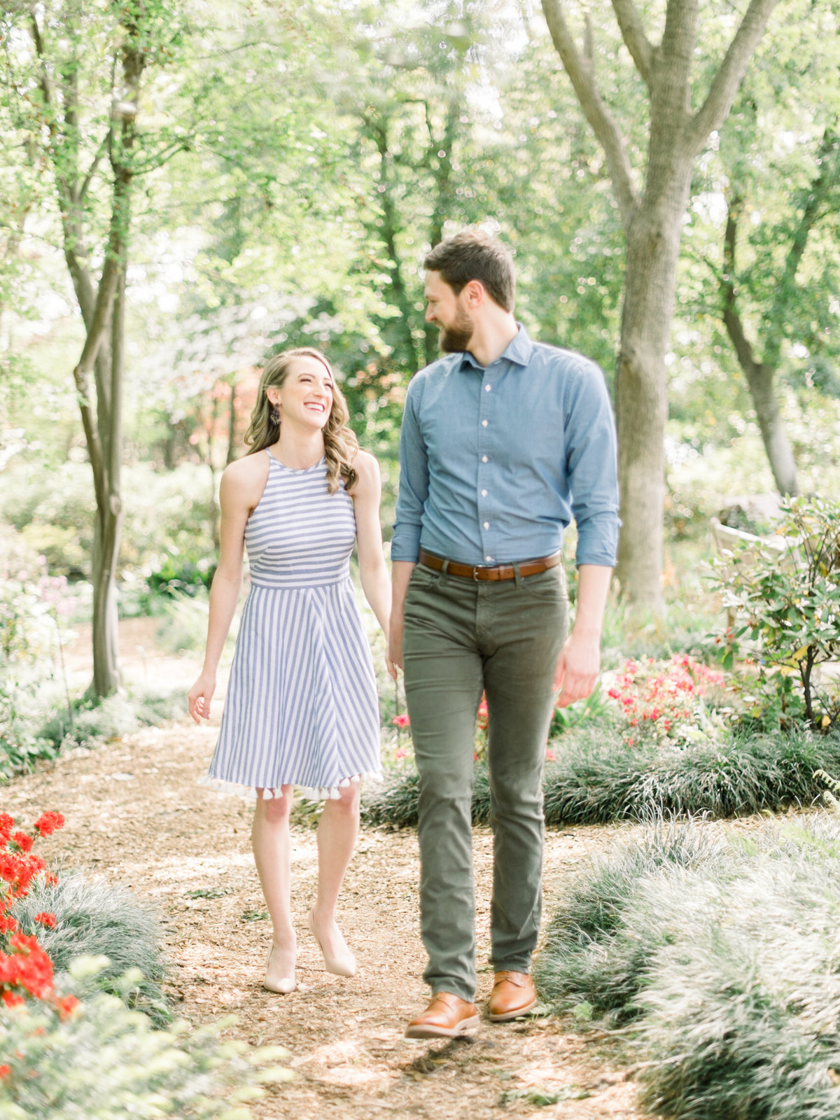 Courtney Hanson Photography - Dallas Spring Engagement Photos at Dallas Arboretum-2605