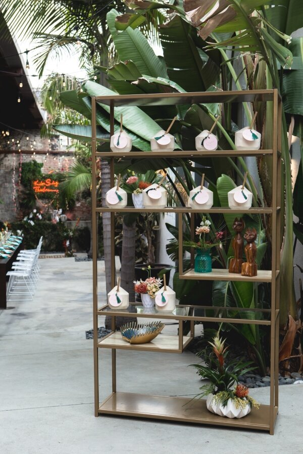 Coconut_Escort_Card_Display_Los_Angeles