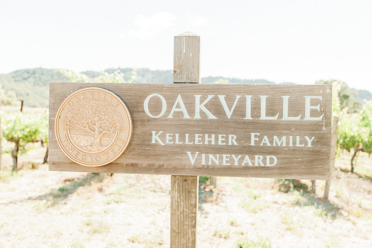 Oakville Vineyard Napa Wedding Venue