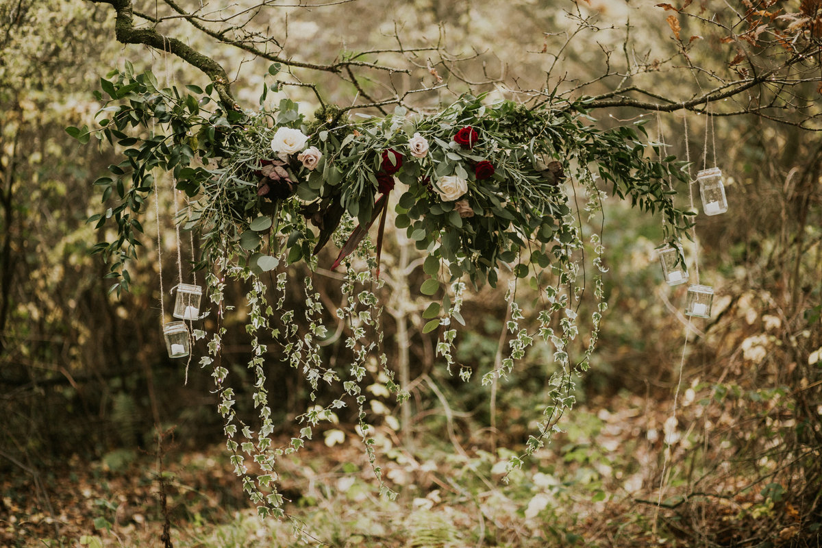 The Stars Inside - Forest Elopement - Nataly J Photography (10)