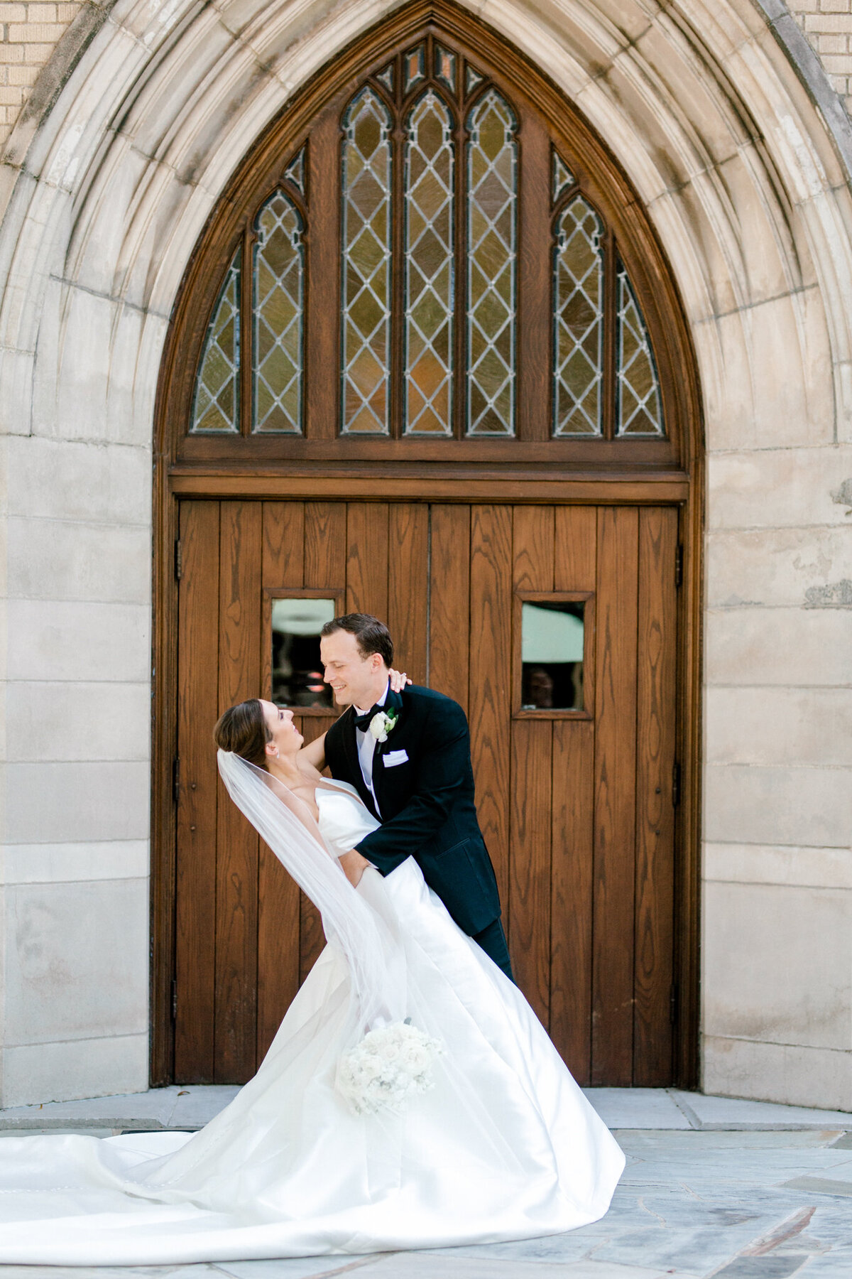 Wedding at the Crescent Court Hotel and Highland Park United Methodist Church in Dallas | Sami Kathryn Photography | DFW Wedding Photographer-134