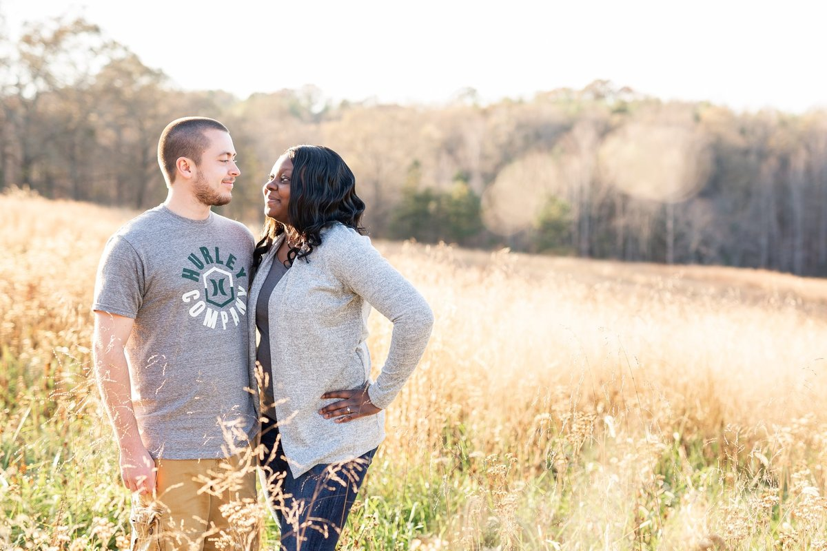 Jennifer Laura Photography - Kendra and Dennis couples session portrait