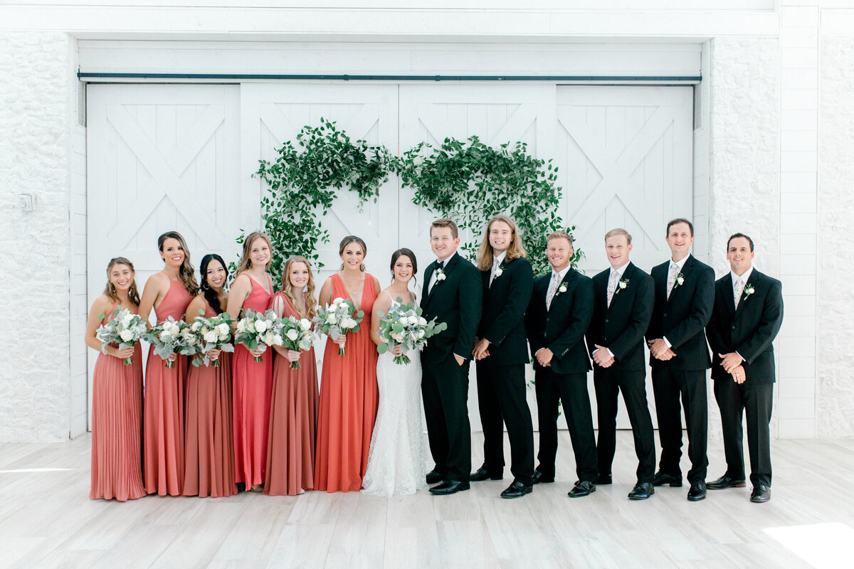 Anna & Billy's Wedding at The Nest at Ruth Farms | Dallas Wedding Photographer | Sami Kathryn Photography-145