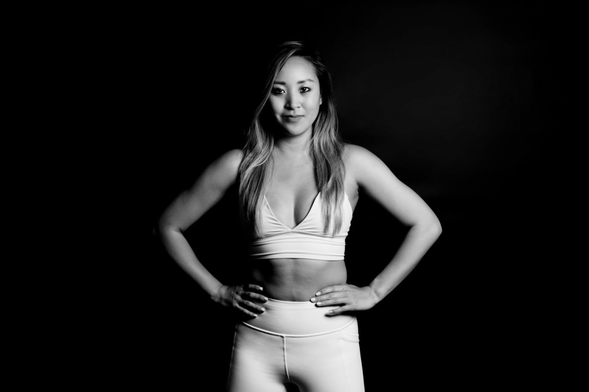 In-Studio Dramatic Fitness Photography, Palo Alto