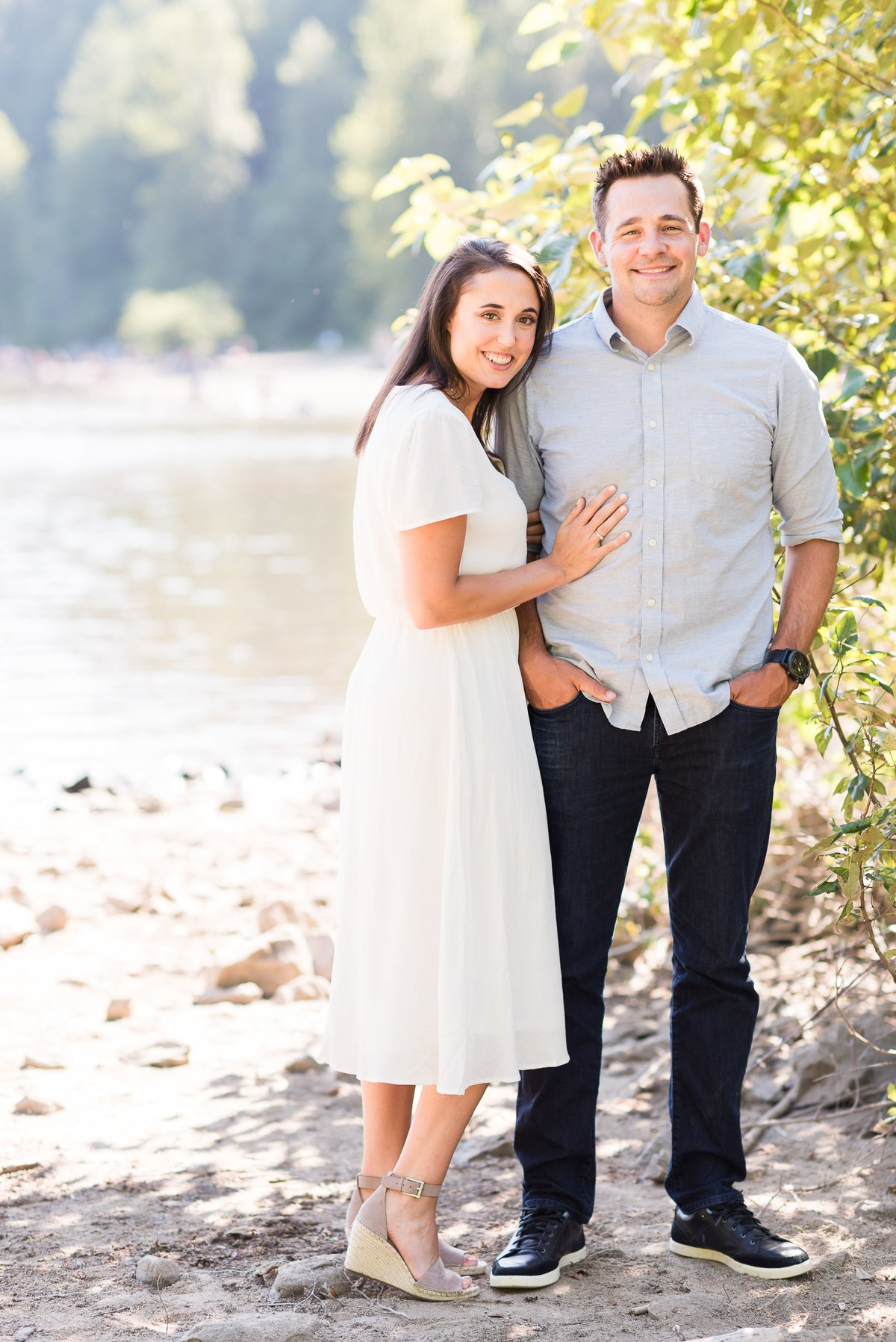 Rattlesnake Lake Engagement Session - 06