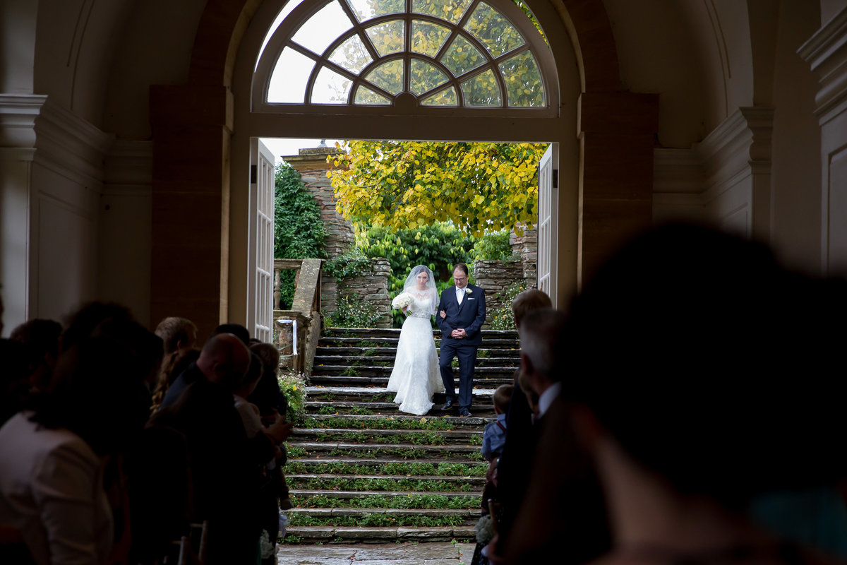 hestercombe gardens wedding cermony photographer