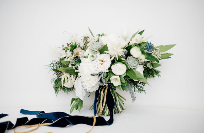 winter white bouquet studio fleurette