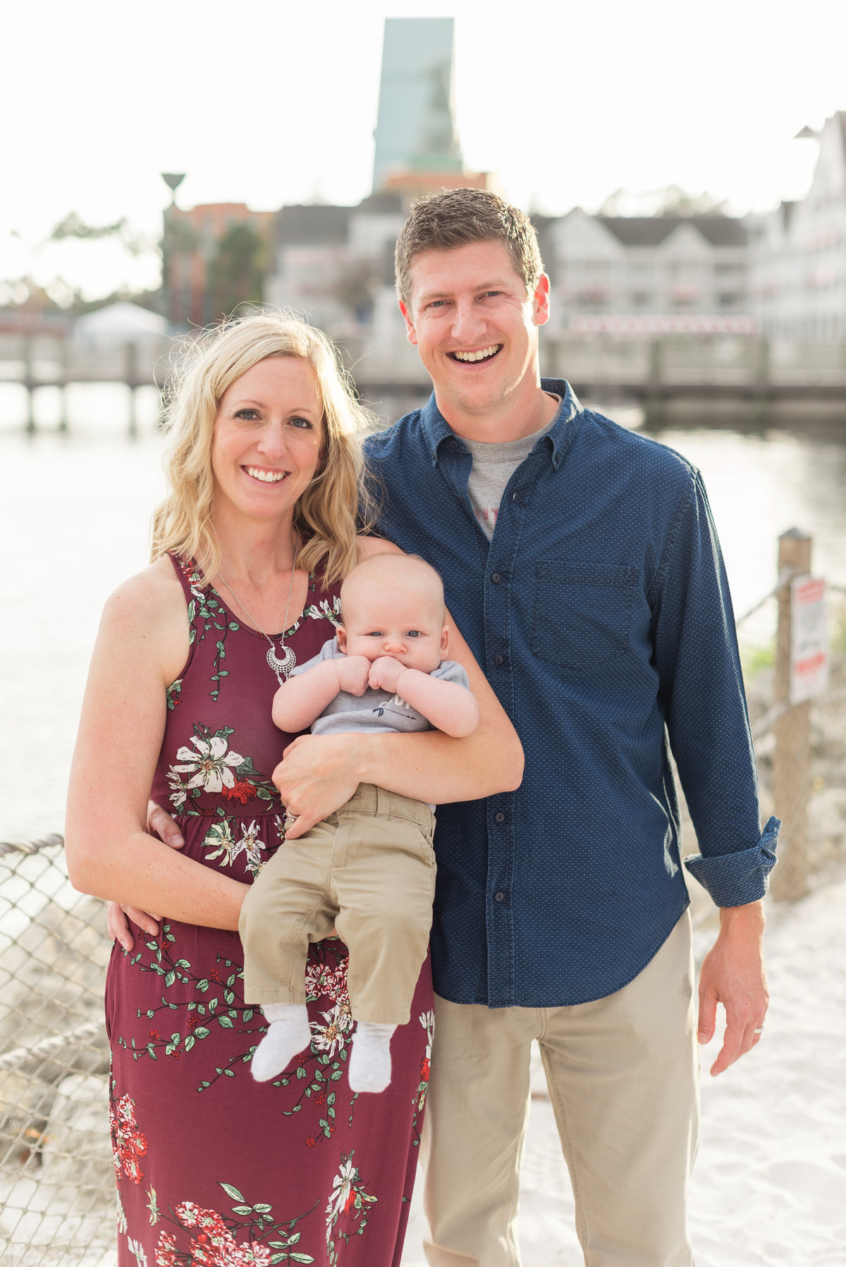 Disney Family Photography at the Boardwalk, Disney Family Photography at the Beach Club