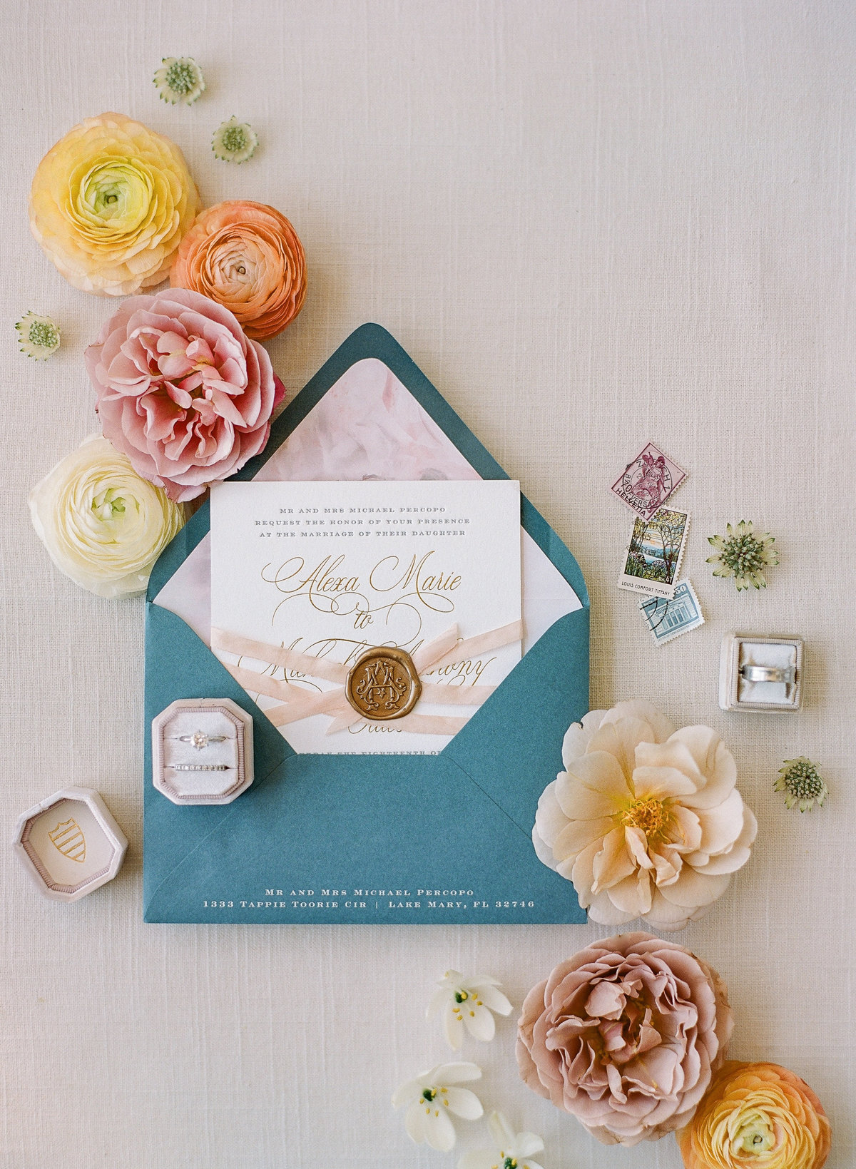 Fine Art Wedding Invitation-3