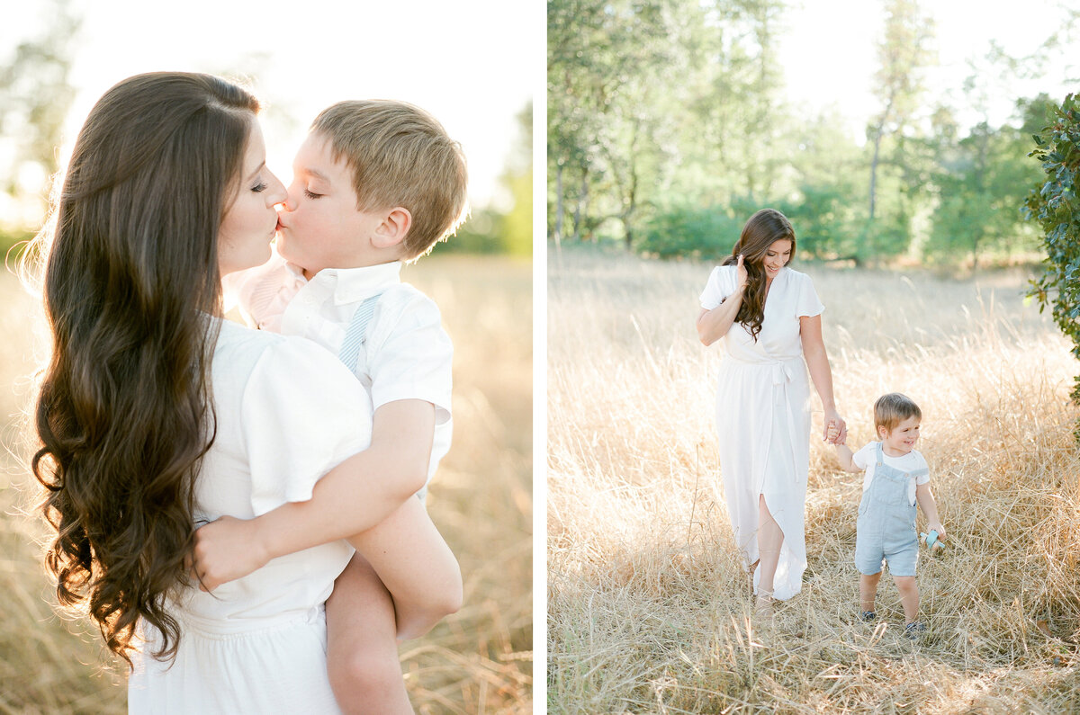 Fort Steilacoom Park Family Session - Film Family Photography - Seattle - Fine Art - Light and Airy - Family photos - 3