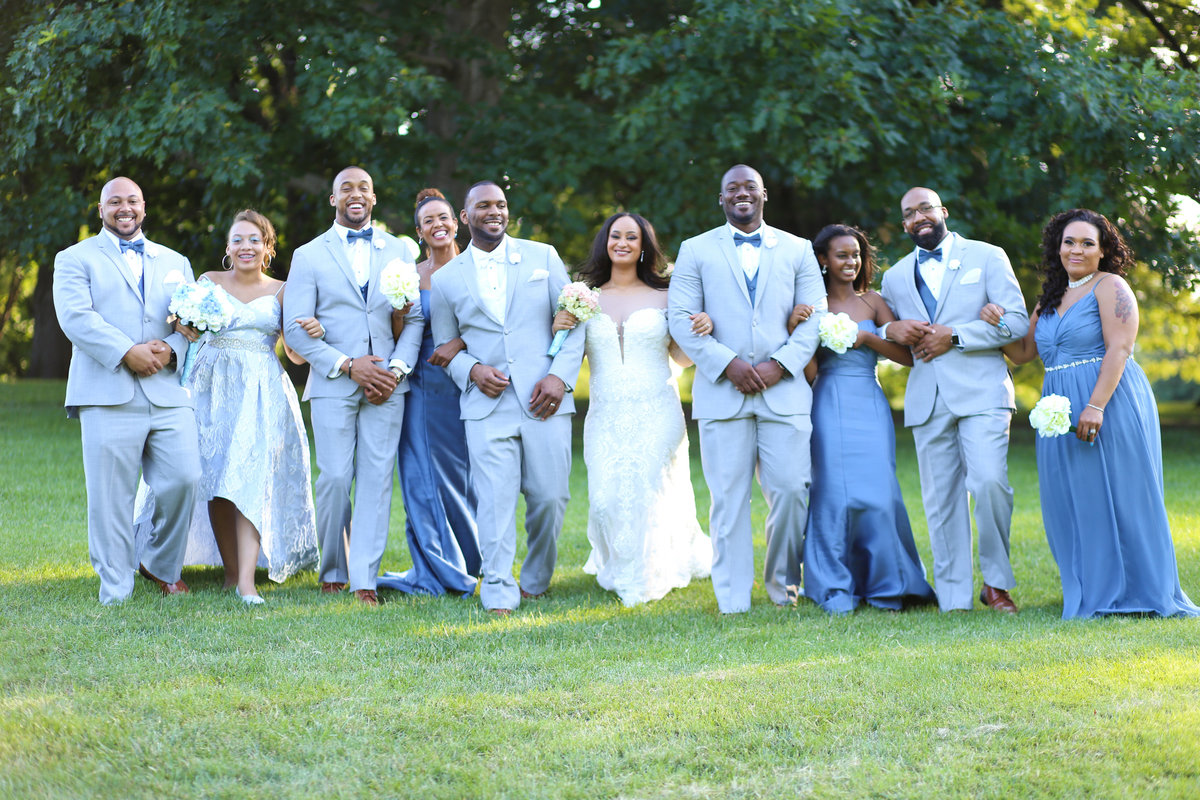 Bridal Party - Loose Park Wedding Photographer Kansas City