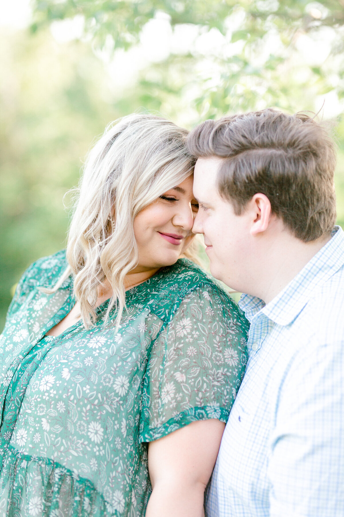 Maddie & Chris Engagement Session at Tandy Hills Natural Area | Sami Kathryn Photography | Dallas DFW Fort Worth Wedding and Portrait Photogapher-12