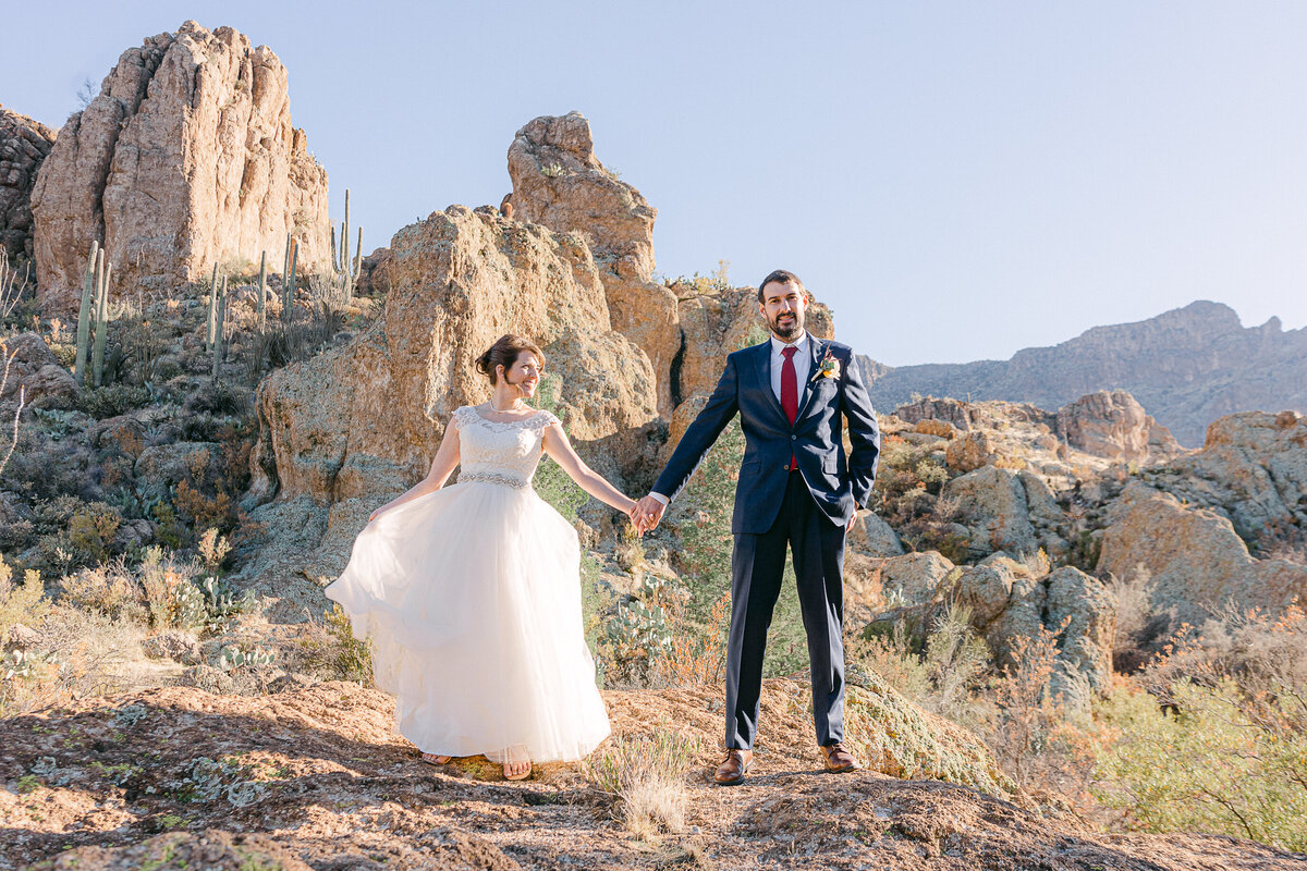 Boyce Thompson Arboretum Wedding - Robbie And Jen - Phoenix Wedding Photographer - Atlas Rose Photography AZ23