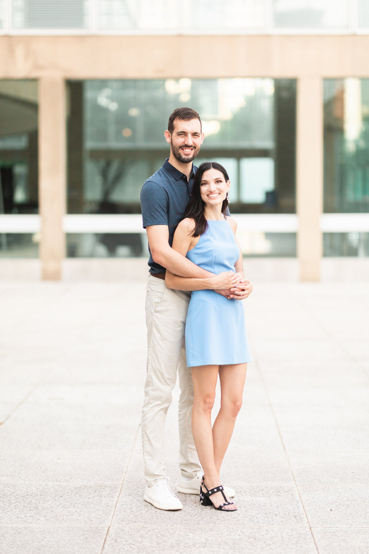 Zack & Hope Engagement Session in the Dallas Arts District Winspear Opera House & Meyerson Symphony Center | DFW Wedding & Portrait Photographer-8