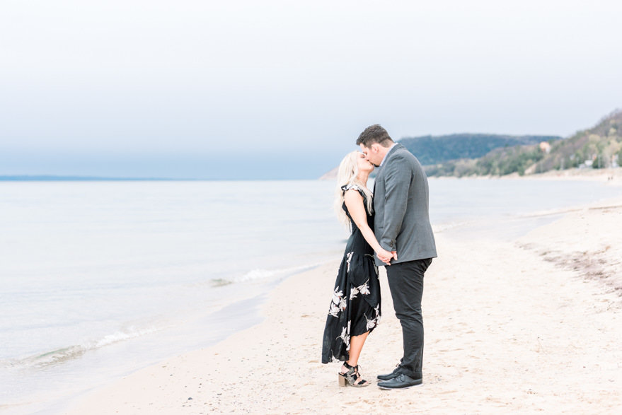 norther michigan beach engagement photographer