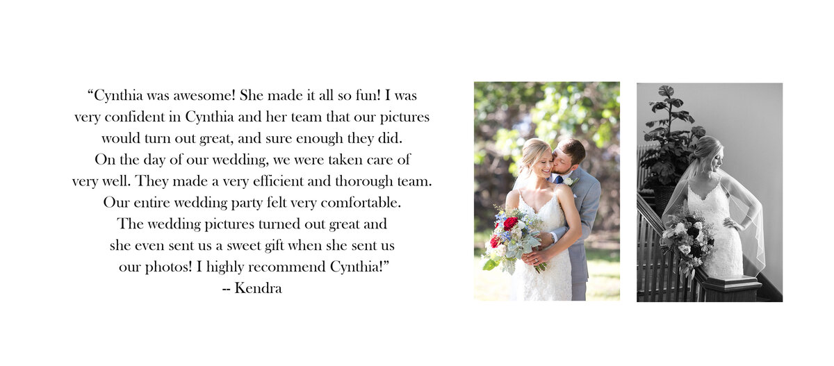 Review- Kendra