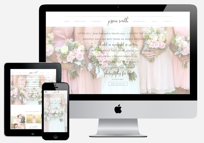 Jessica Smith Photography mockup