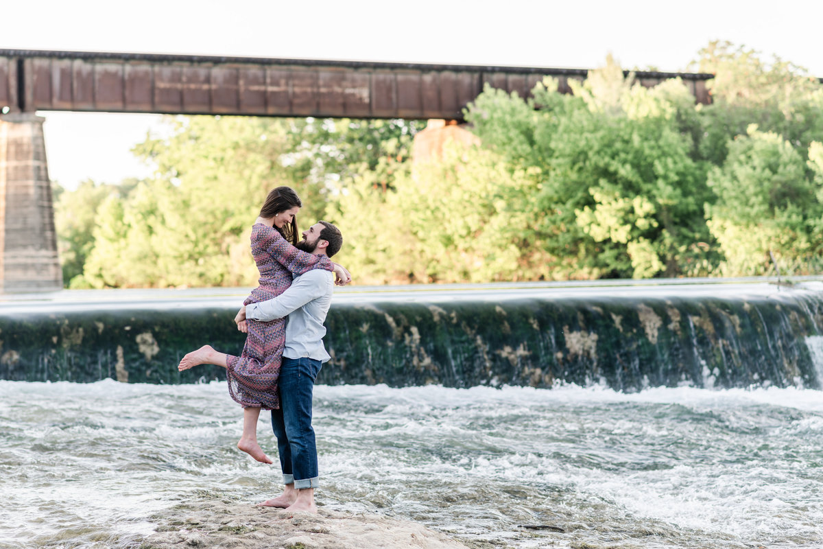 Faust Street Engagement | Holly + Cristian 125