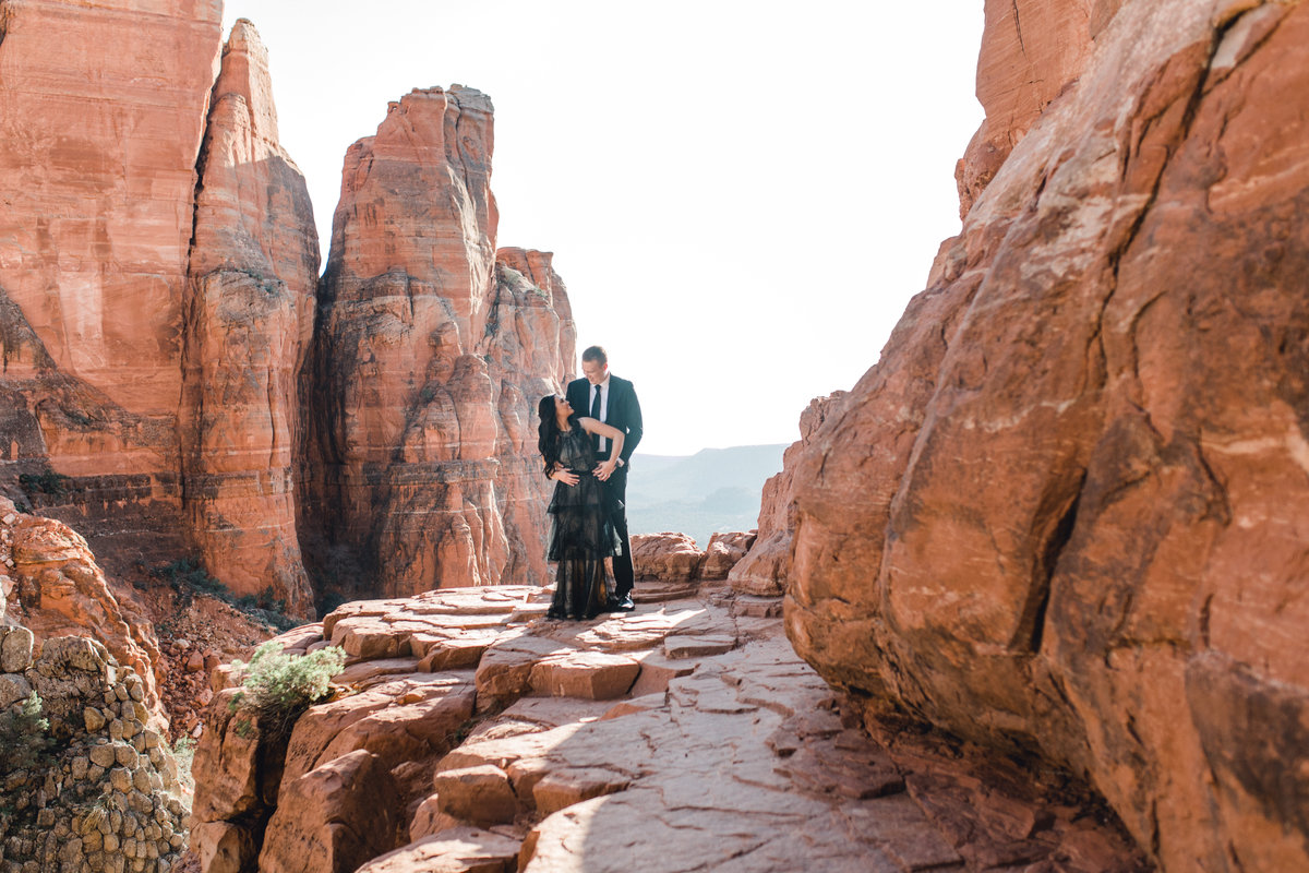 sedona engagement photographer
