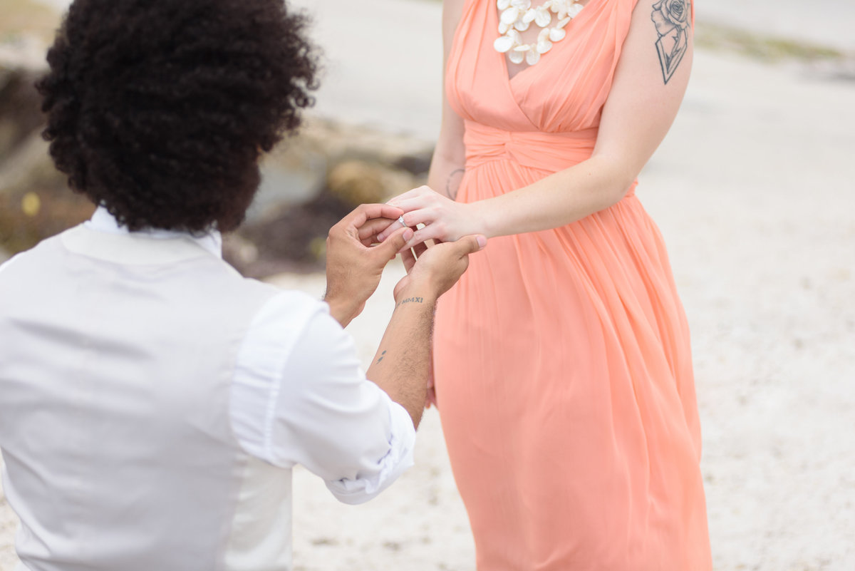 Miami Beach Wedding Proposal 26