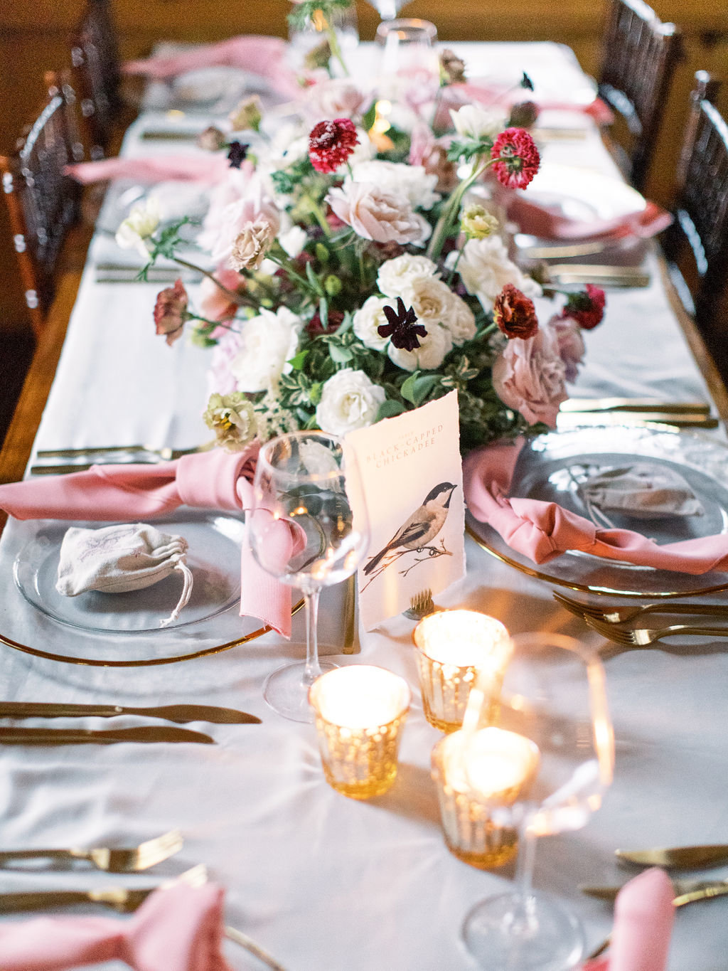 wedding tablescape Delaware florist