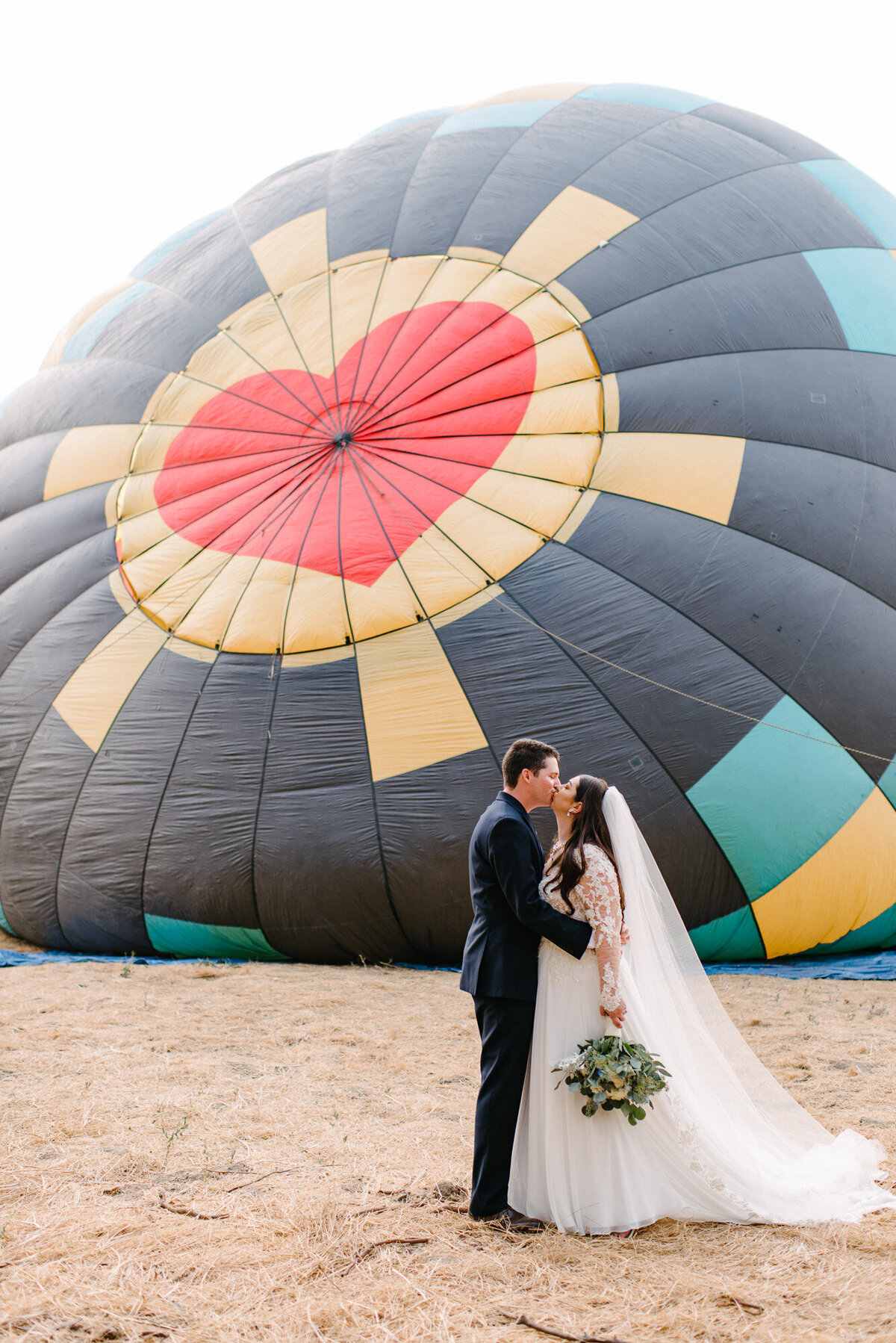 Hot Air Balloon Elopement Marie Monforte Photography-112