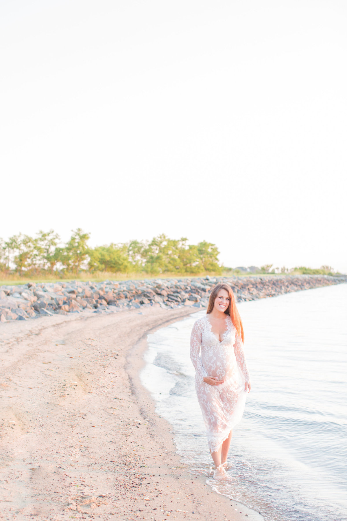 beach-maternity-session