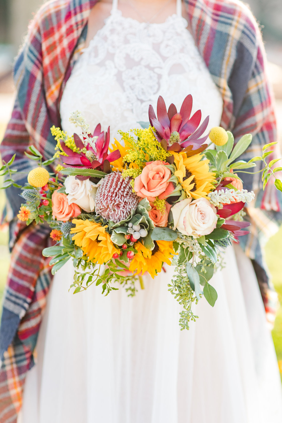 Urban Artifact Brewery Colorful Fall Wedding-96