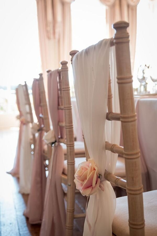 Pink and ivory wedding Prestwold (7)