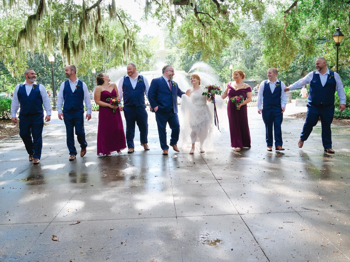 Forsyth Park Wedding Photos