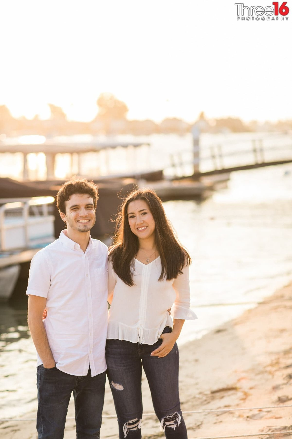 Balboa Island Engagement Photo Session Newport