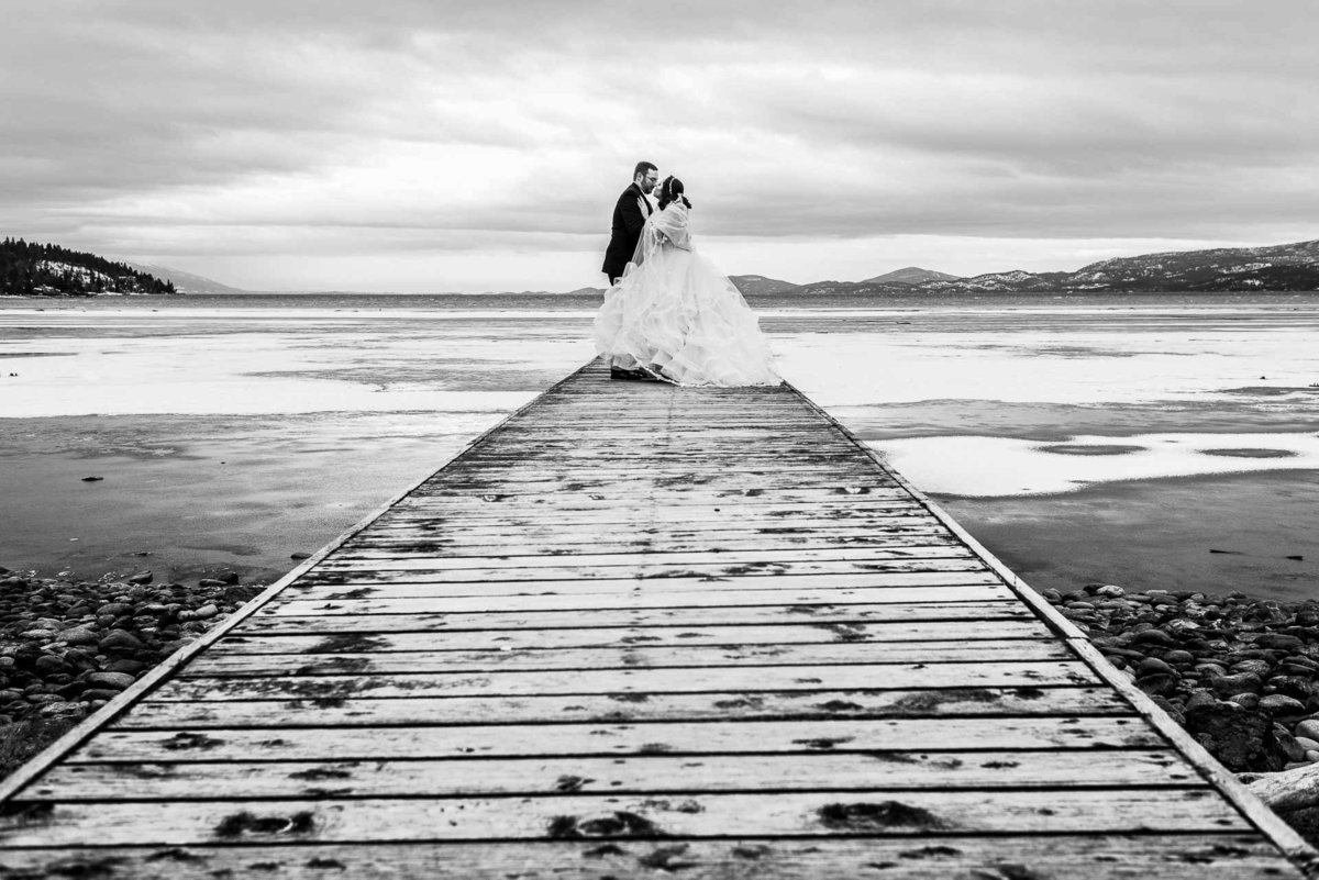 wedding in bigfork montana by flathead lake  by stephane lemaire photography