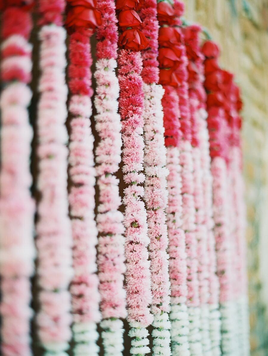 Mum Garlands at Indian Wedding Photographer Bonnie Sen Photography
