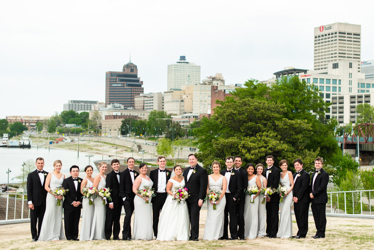 beale street landing bridal party