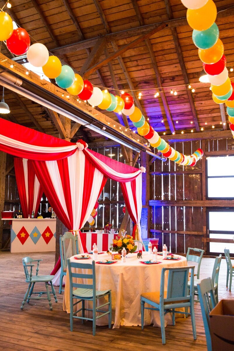 Circus Themed 1st Birthday Indianapolis Party Planner_0015