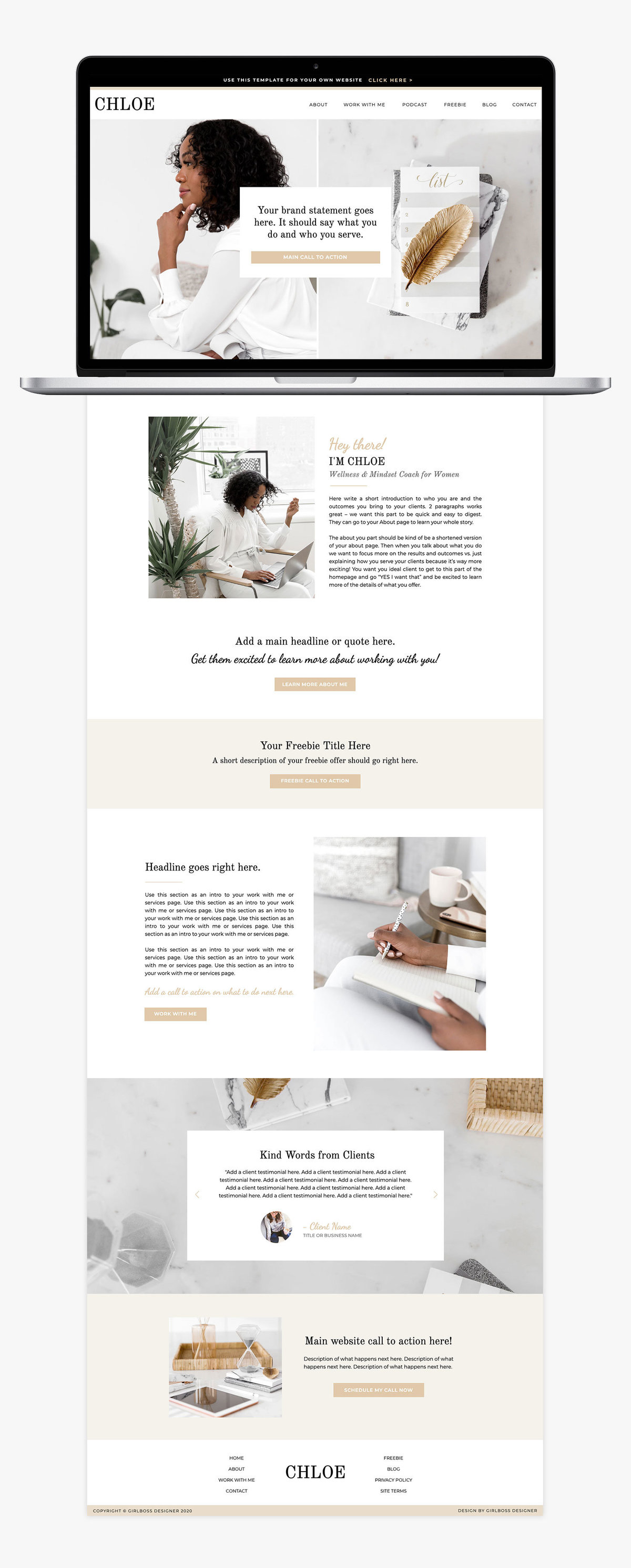 Girlboss-Designer-Chloe-Website-Template-Gold