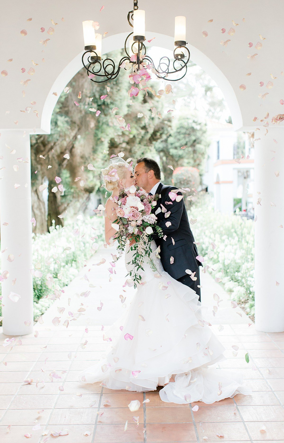 Romantic and Stunning Resort at Pelican Hill wedding