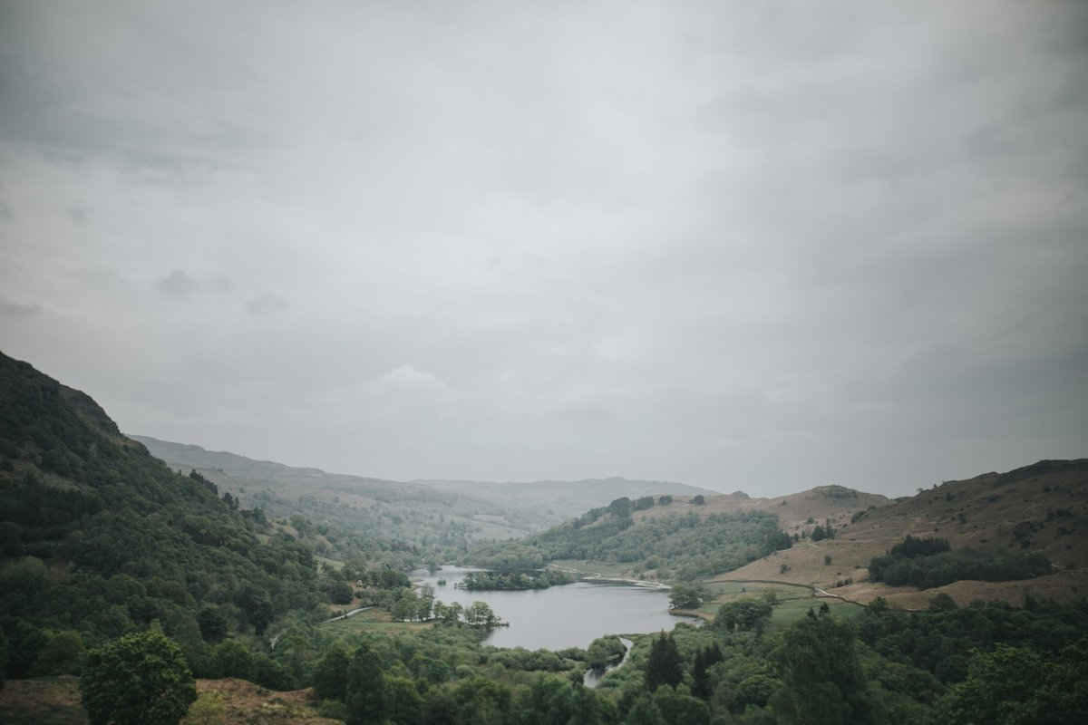 View of Lake District near Baldry's Grasmere
