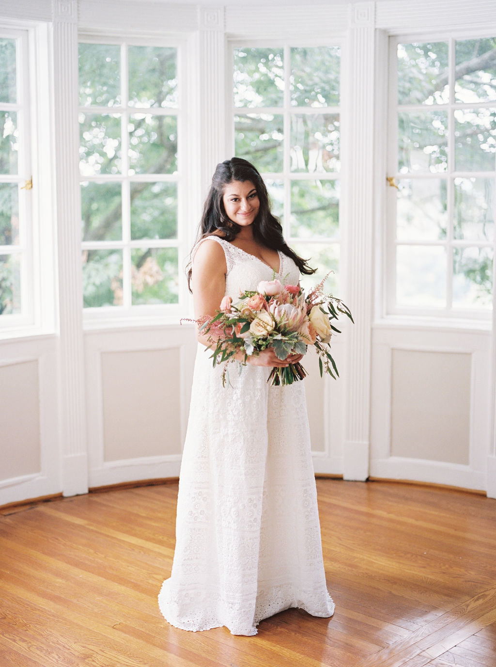 delawre bride bouquet Greenville Country Club
