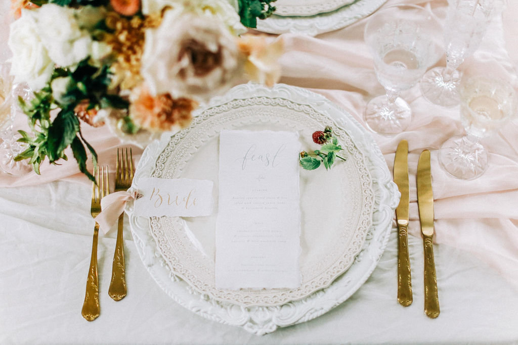 Timeless Wedding Table, Luxury Styling
