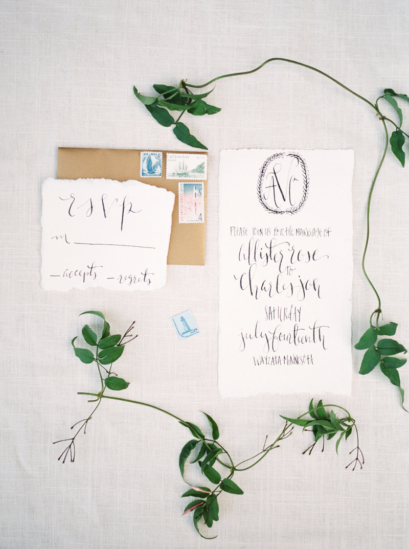 calligraphy with floral styling