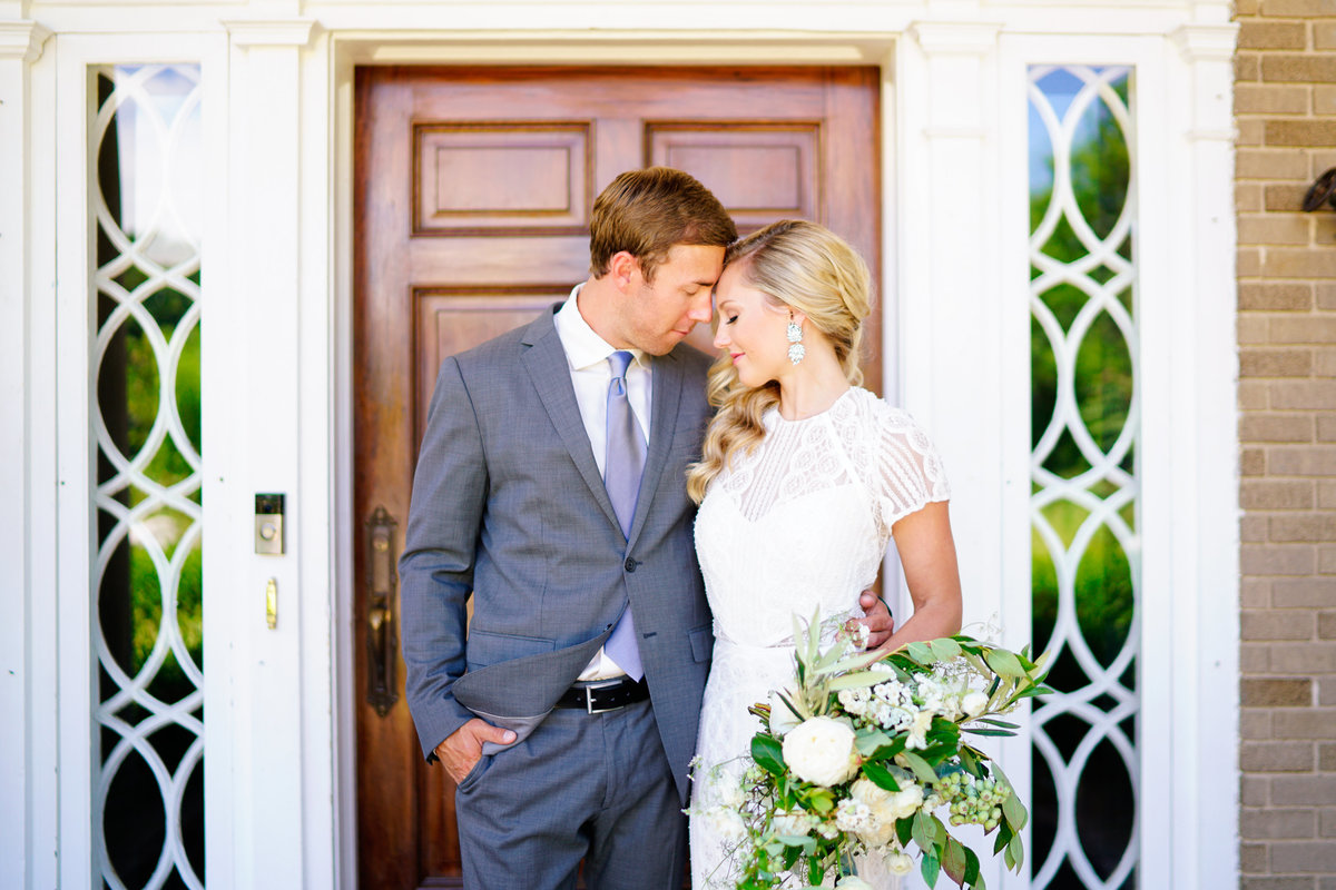 bride and groom felt mansion estate chapel wedding