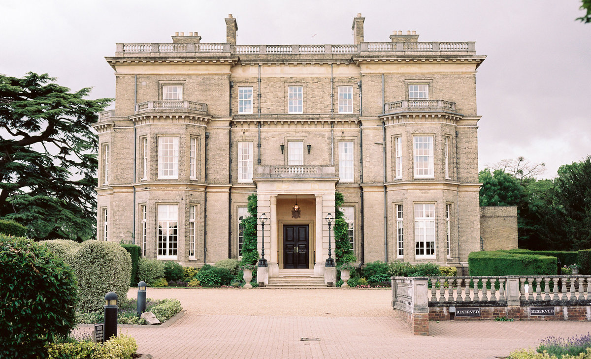 Hedsor House, country manor wedding venue in England, UK
