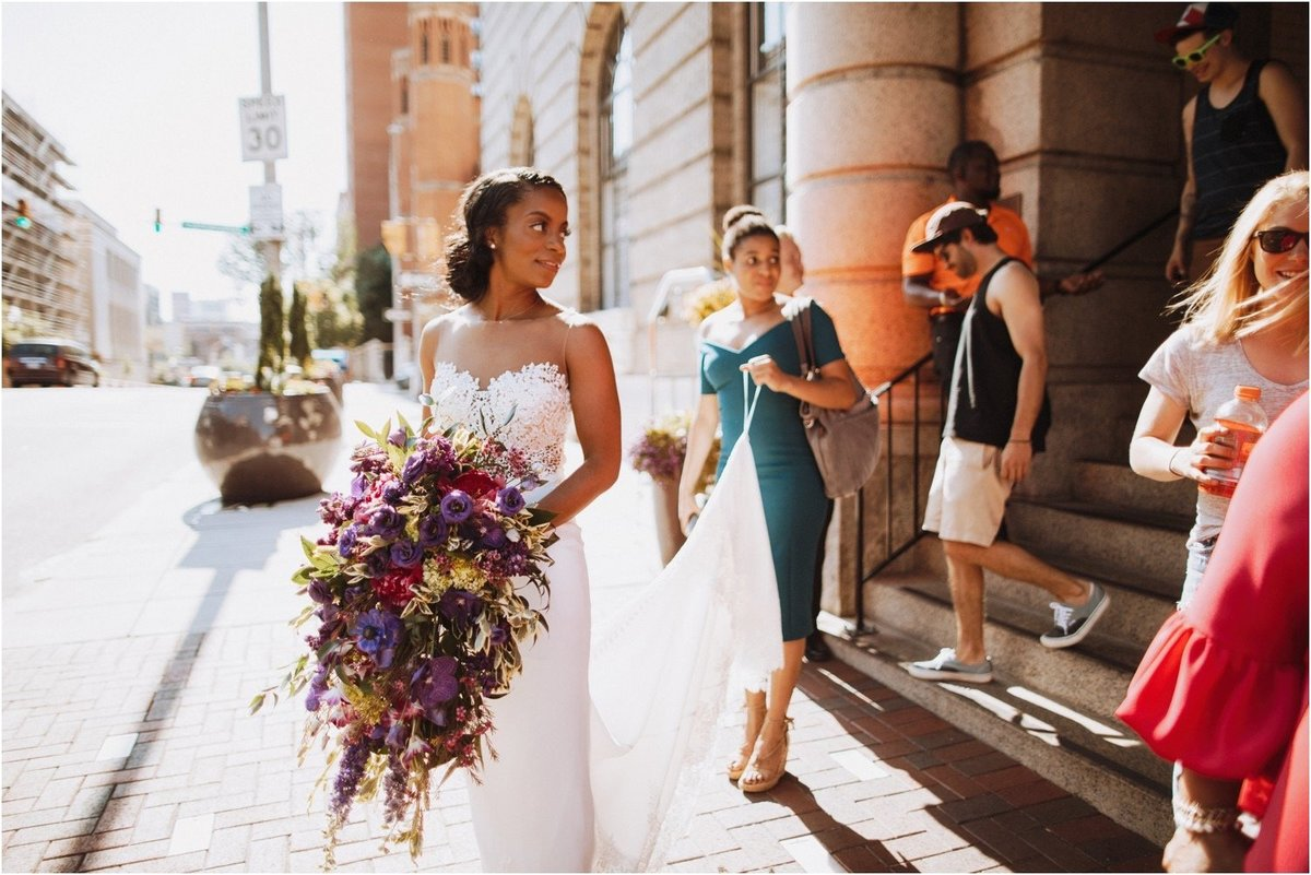 dc wedding planner Corradetti Glassblowing Studio