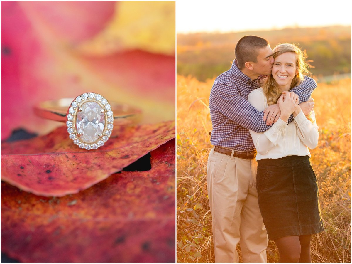Fall Engagement Session at Shaker Village