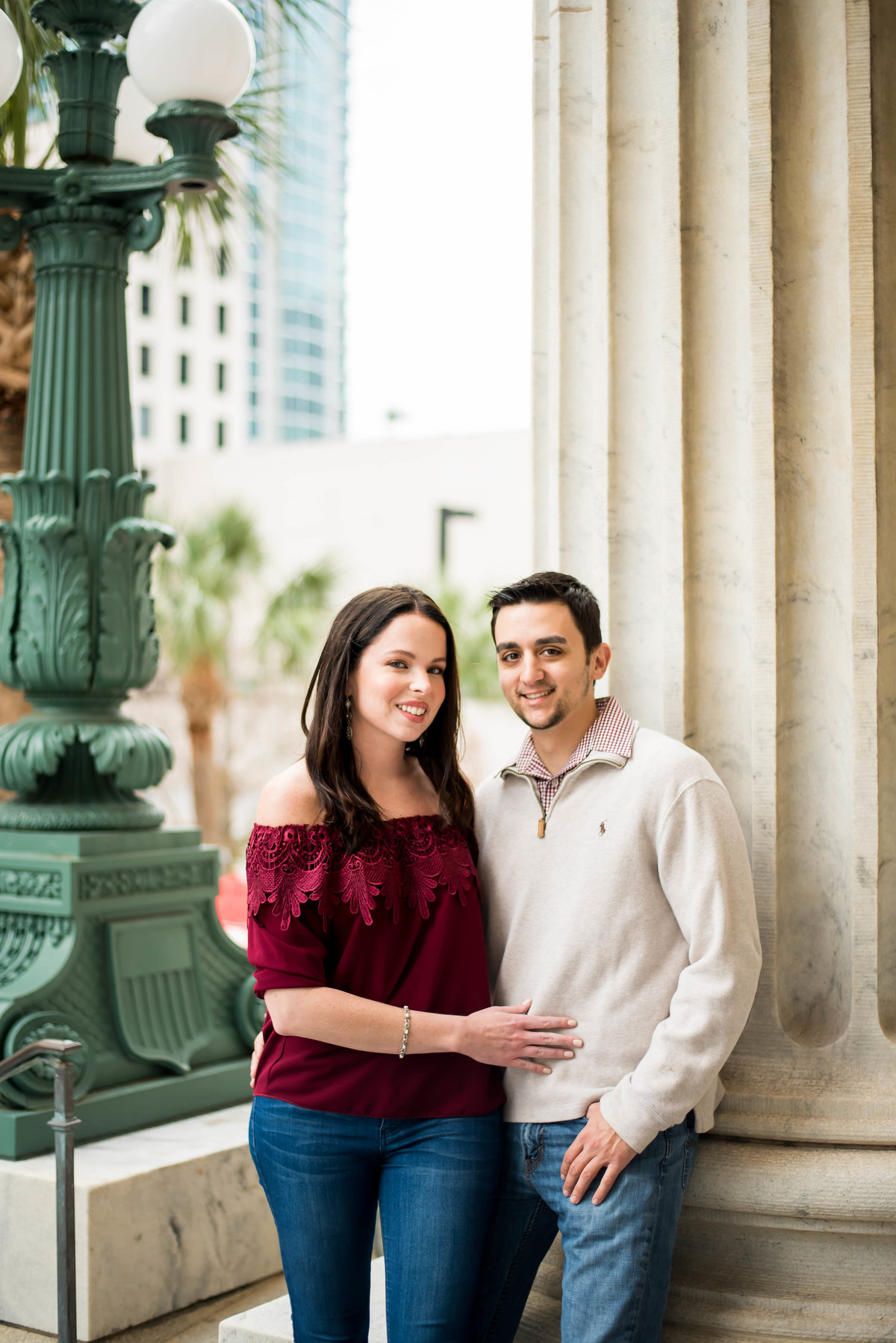 Downtown-Tampa-Engagement-Photoshoot